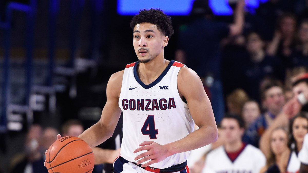 College Basketball Rankings Gonzaga Leads Ap Top 25 Poll