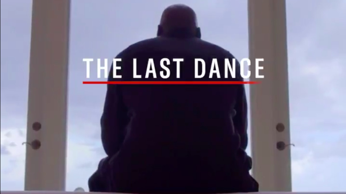 A still from the latest ESPN trailer for 'The Last Dance' a 10-part documentary series on Michael Jordan's final season with the Bulls