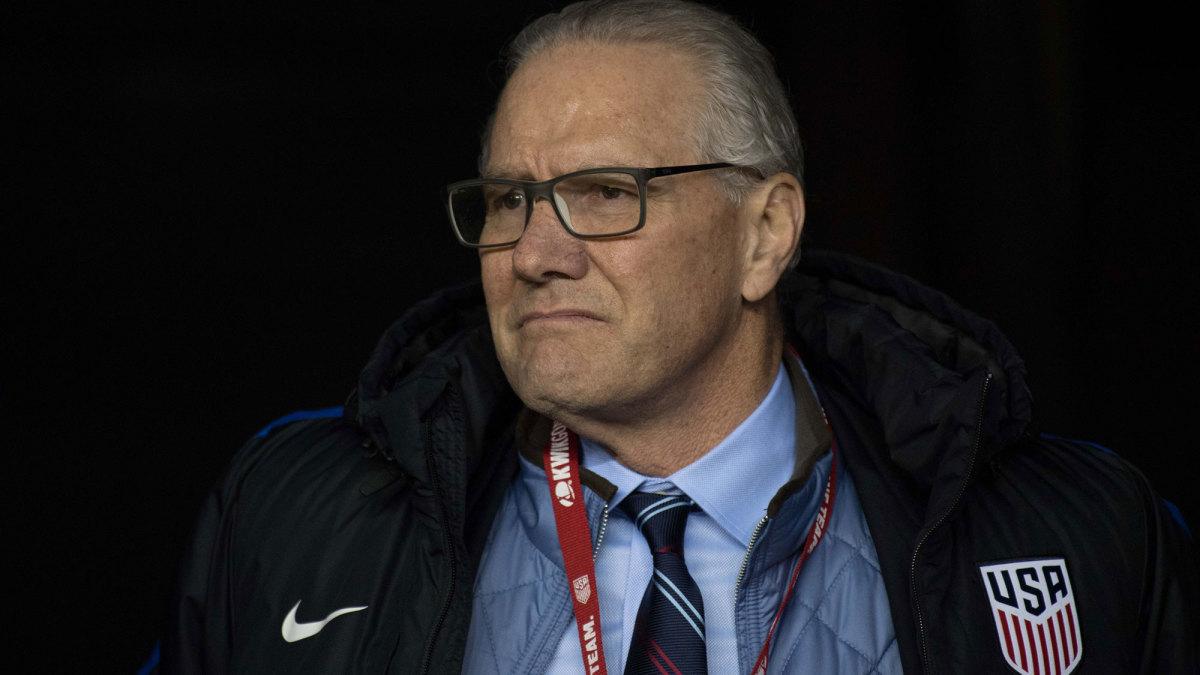 Dan Flynn is out as U.S. Soccer CEO