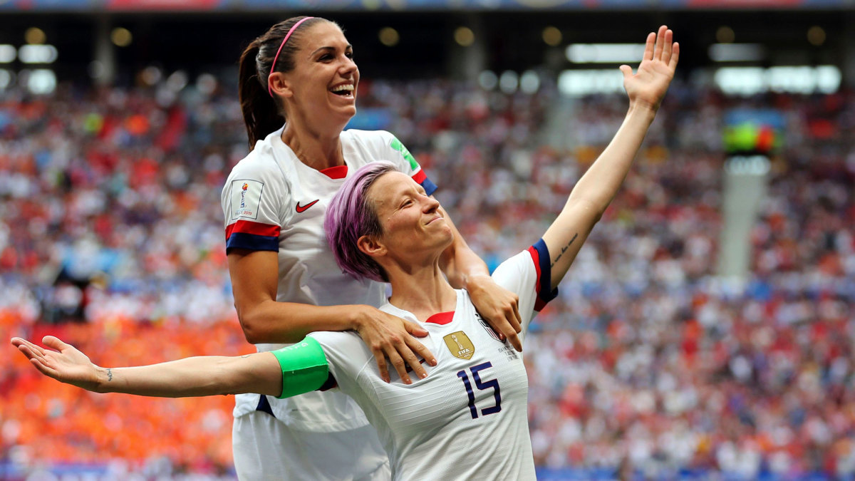 Megan Rapinoe and Alex Morgan led the USA to the Women's World Cup title