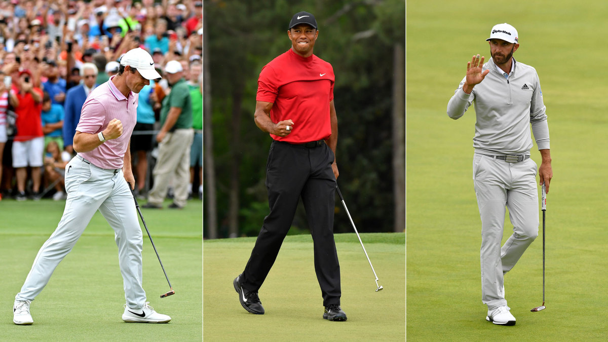Rory McIlroy, Tiger Woods and Dustin Johnson are primed for big 2020 seasons on the PGA Tour
