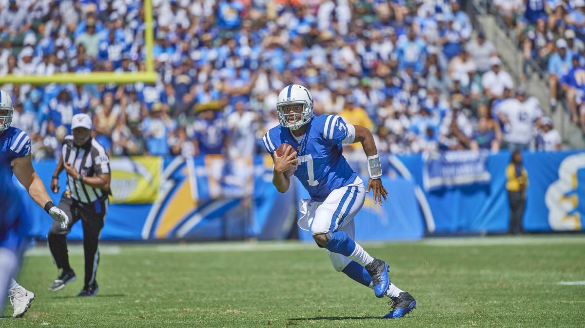 Colts QB Jacoby Brissett