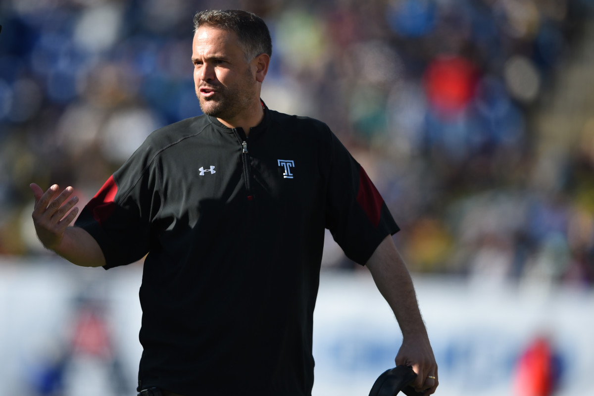 Matt Rhule has turned programs around. First Temple, now Baylor.