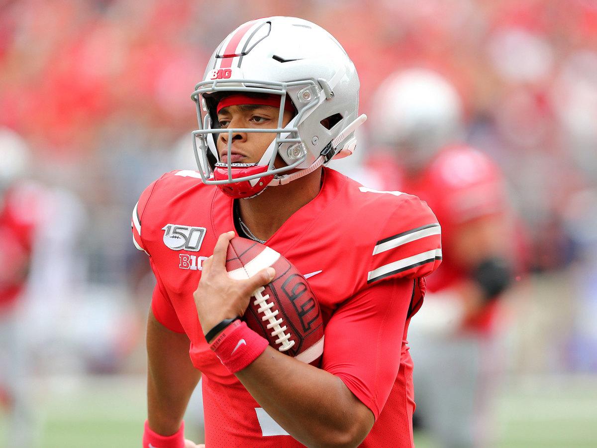 Ohio State Justin Fields touchdown