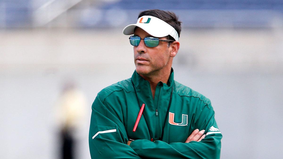Miami football Dan Enos