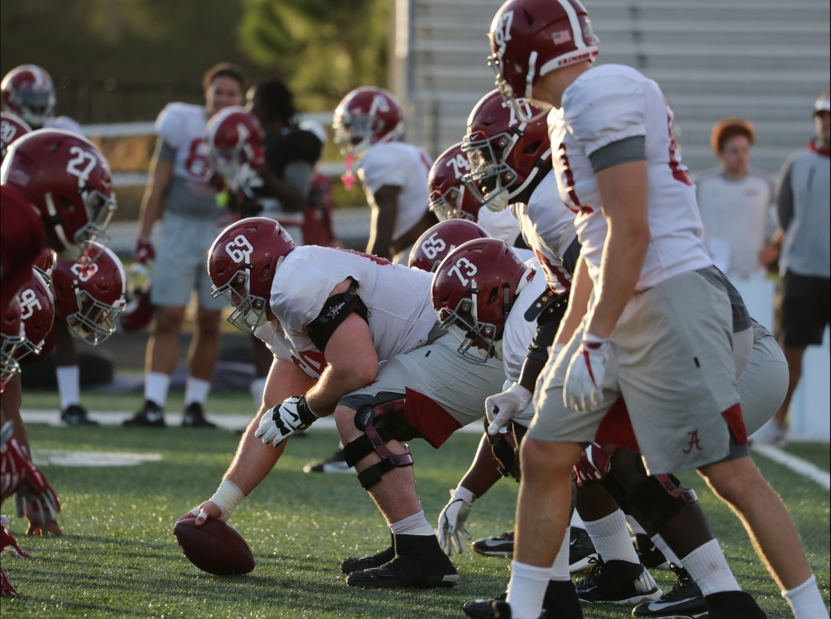Alabama will have its entire starting offensive line during the Citrus Bowl.