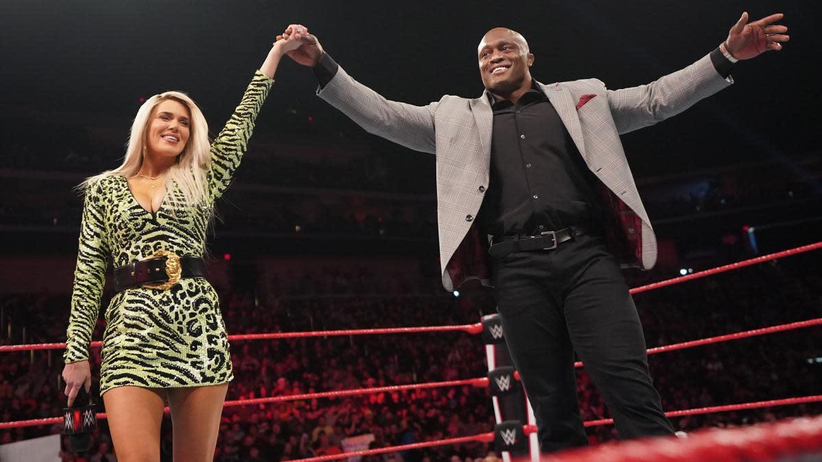 Bobby Lashley Talks Wedding With Lana Monday Night Raw Sports