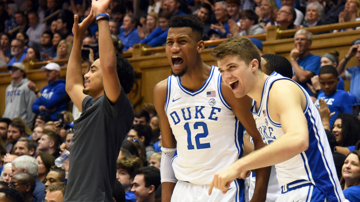 College Basketball Rankings Duke Rises In Ap Top 25