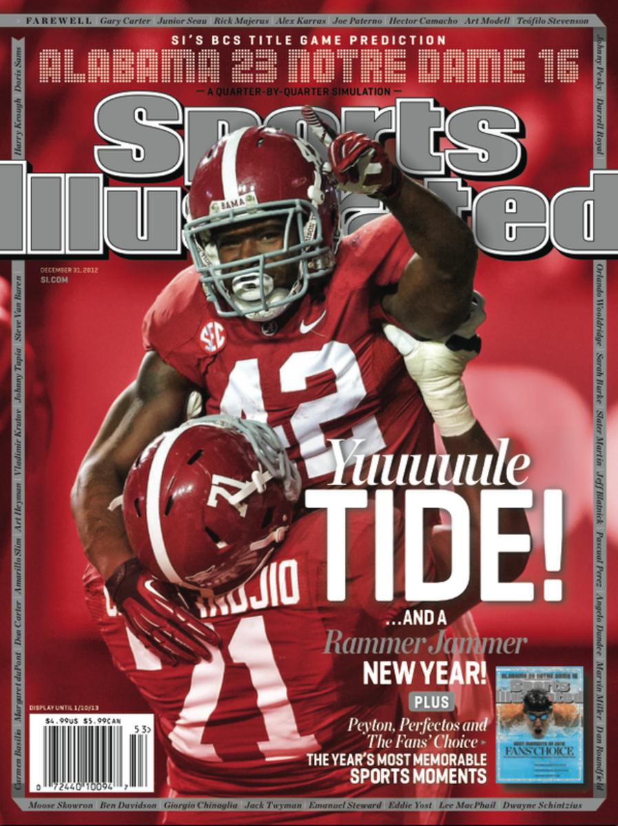SI bonus section cover, December 31, 2012
