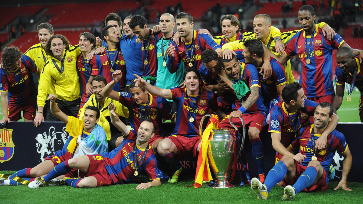 Barcelona wins the 2011 Champions League final