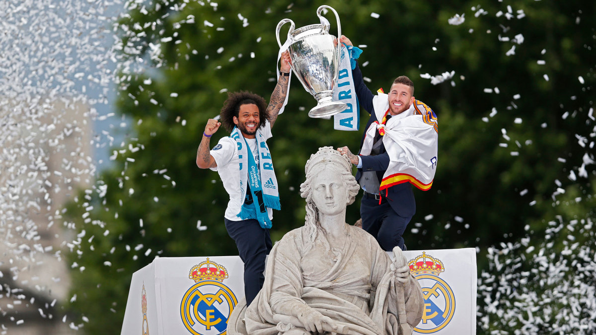 Real Madrid won four Champions League titles in five seasons