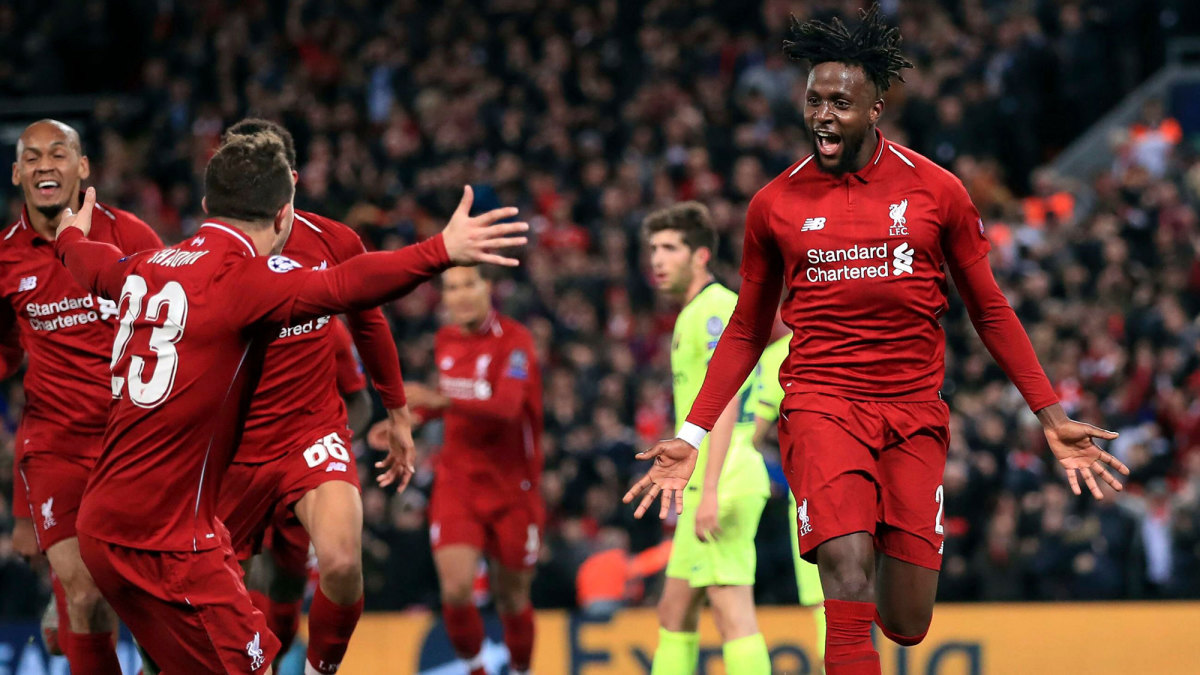 Liverpool stunned Barcelona with a comeback from three goals down