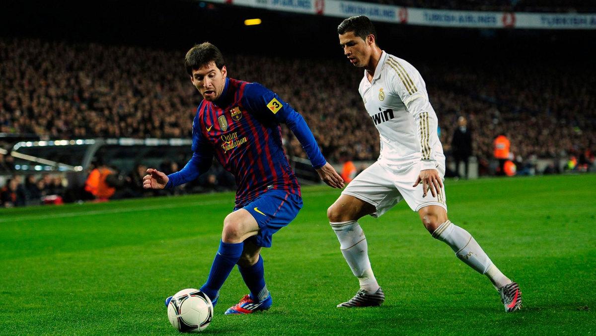 Lionel Messi and Cristiano Ronaldo starred in the 2010s