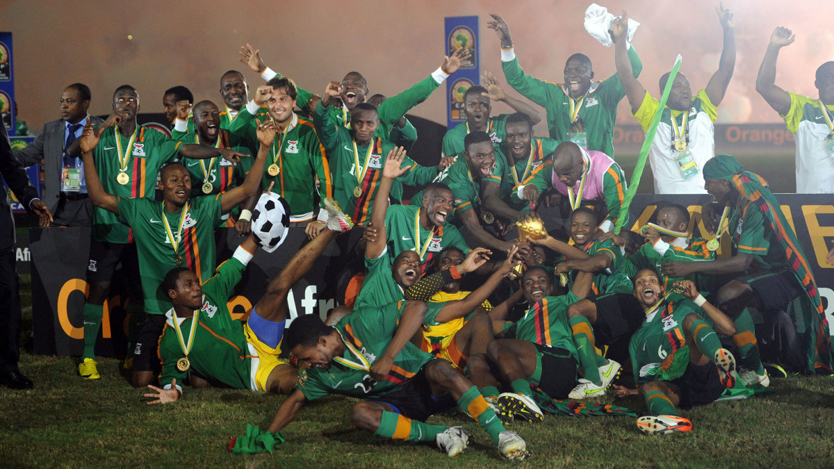 Zambia won the 2012 Africa Cup of Nations