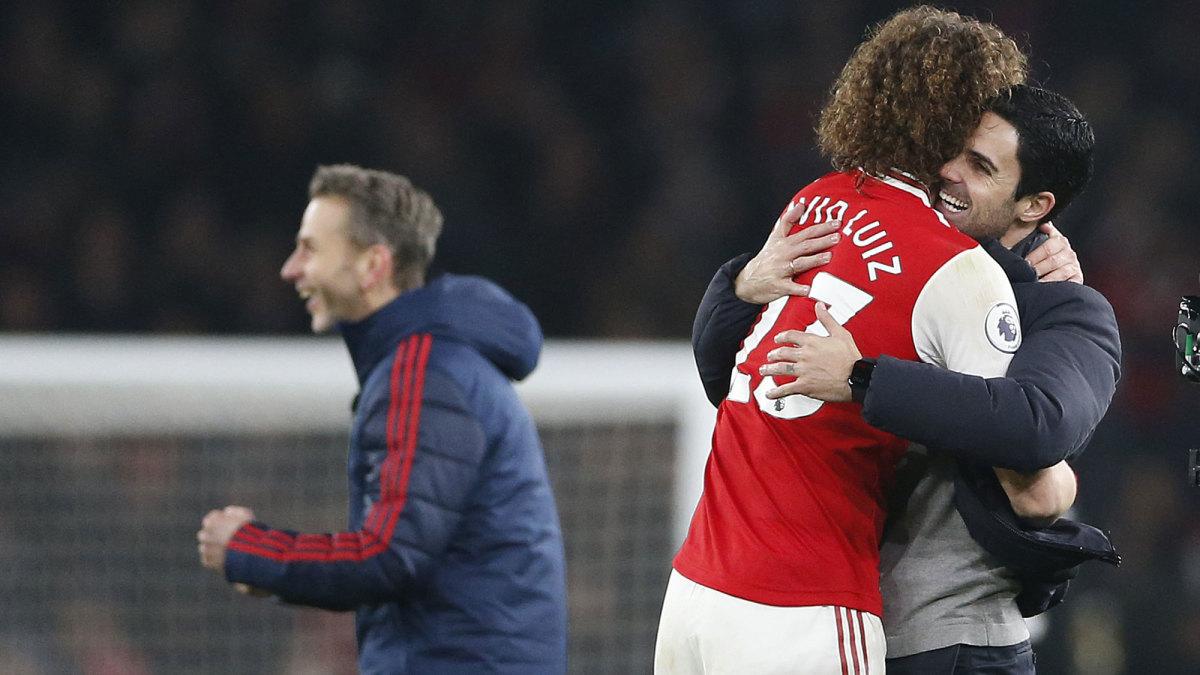 Mikel Arteta wins his first game at Arsenal