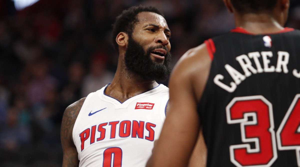 NBA DFS Andre Drummond