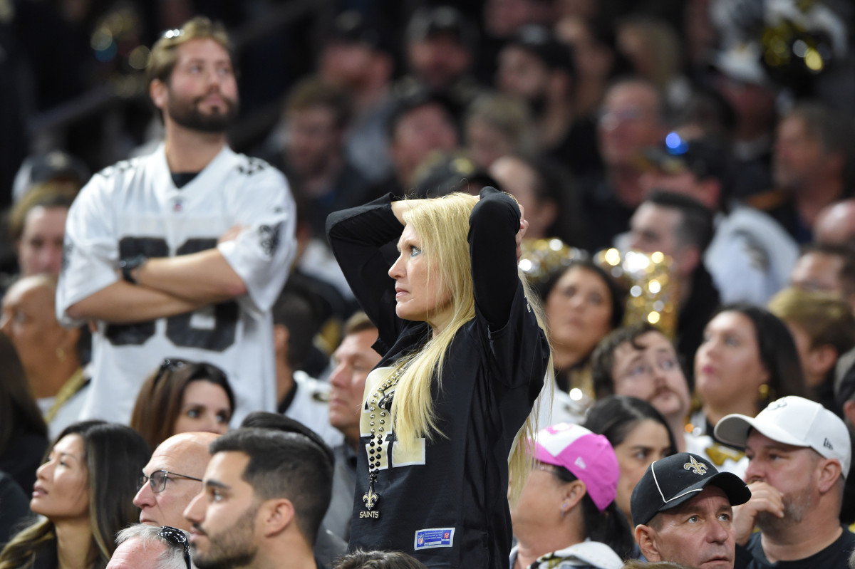 Saints Fans Dissappointed