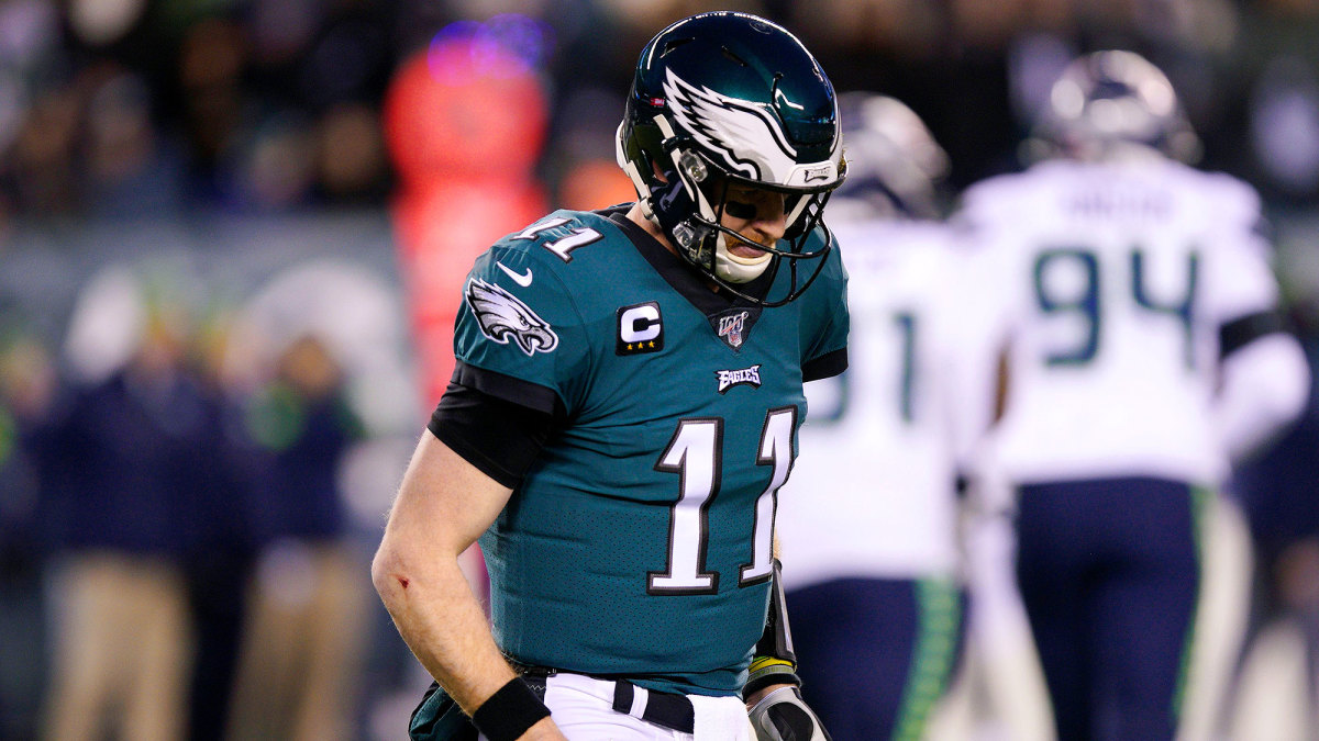 Eagles Carson Wentz heroic for reporting concussion, NFL doctor ...