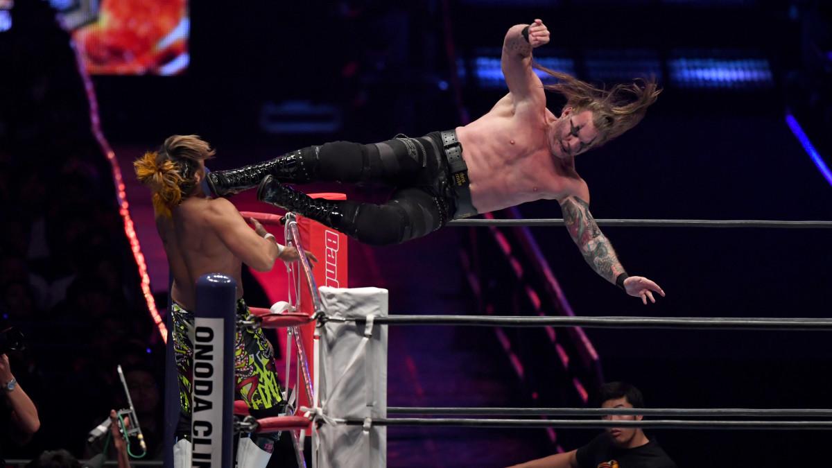 Chris Jericho vs. Hiroshi Tanahashi at New Japan Pro Wrestling's Wrestle Kingdom 14