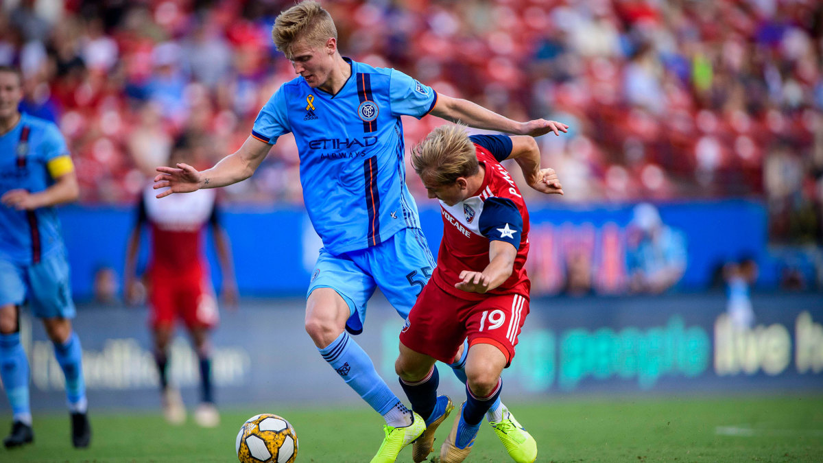 Keaton Parks returns to NYCFC on a permanent deal