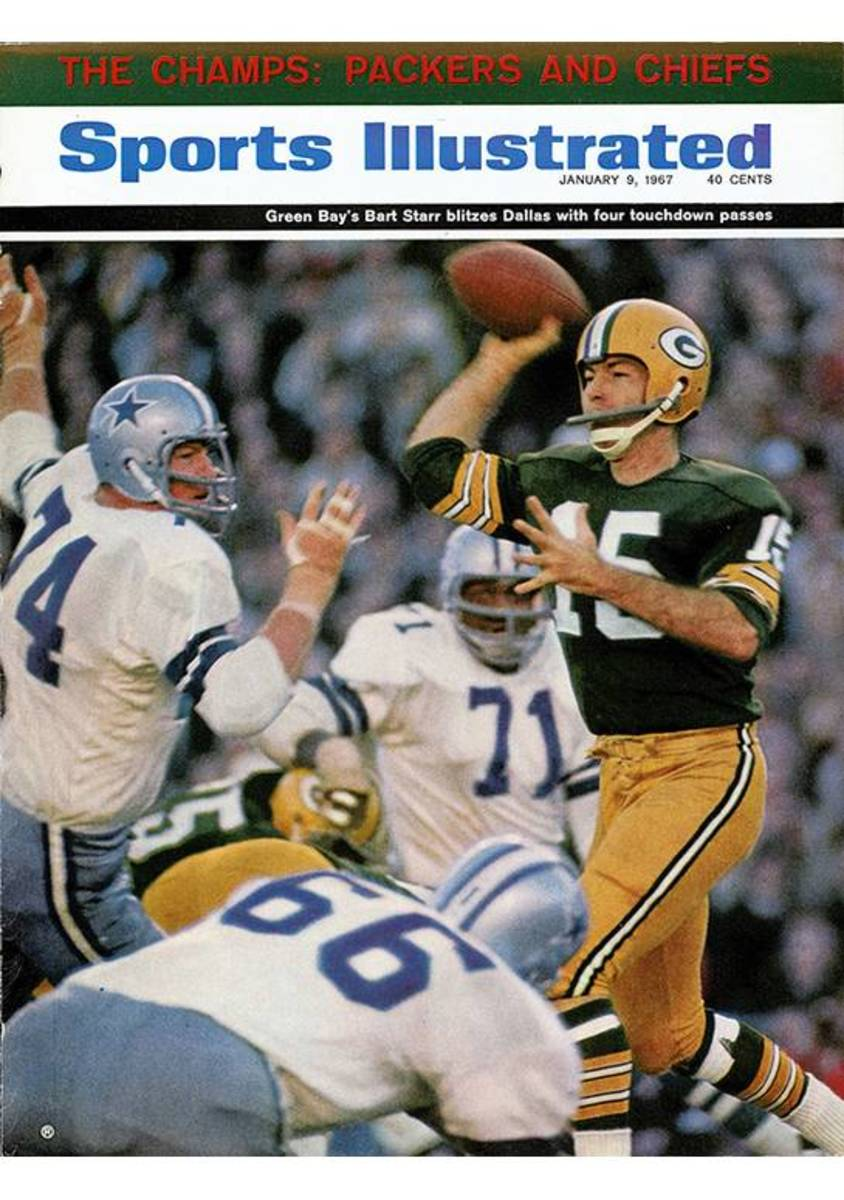 Sports Illustrated cover, Bart Starr, Jan. 9, 1967