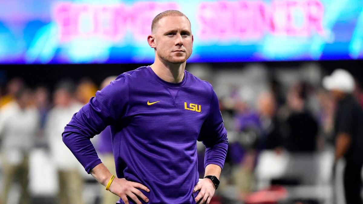 LSU football Joe Brady future