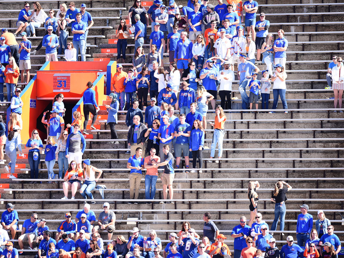 Florida football fan attendance