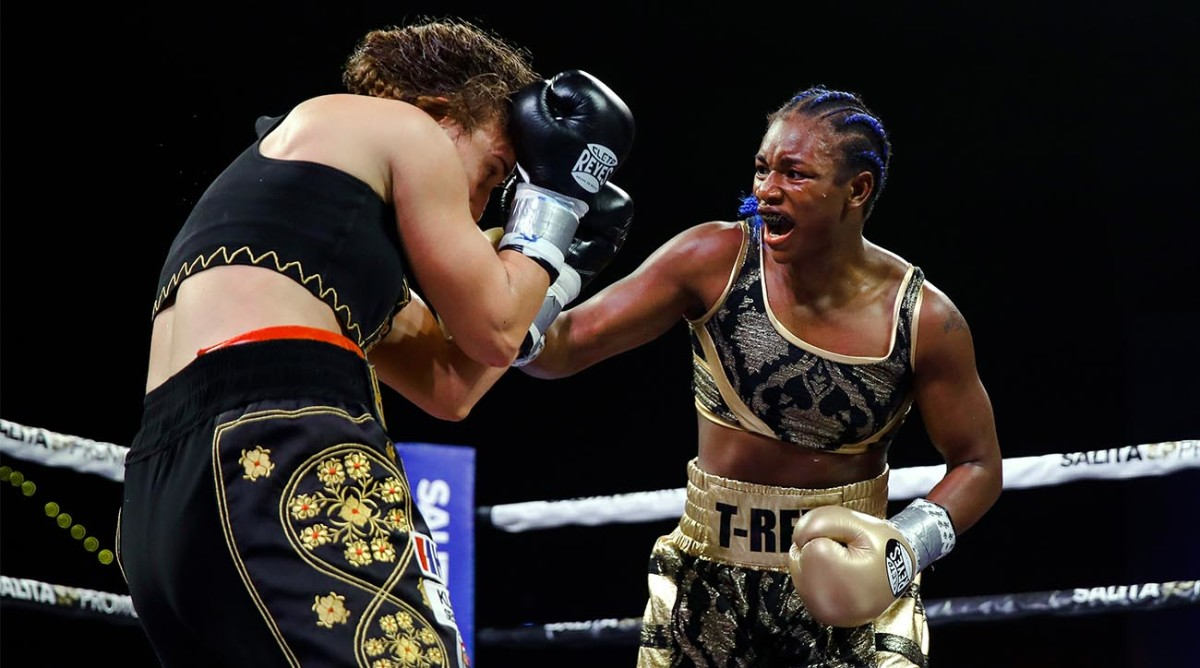 Claressa Shields Junior Heavyweight