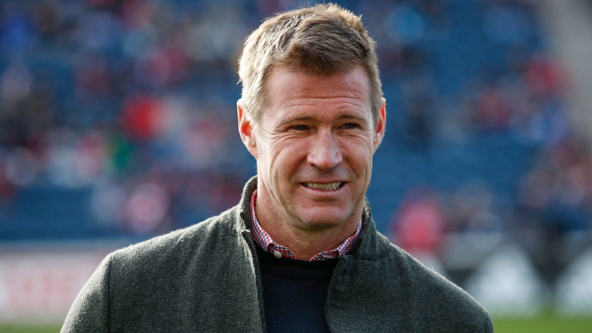 Brian McBride is the new general manager of the U.S. men's national team