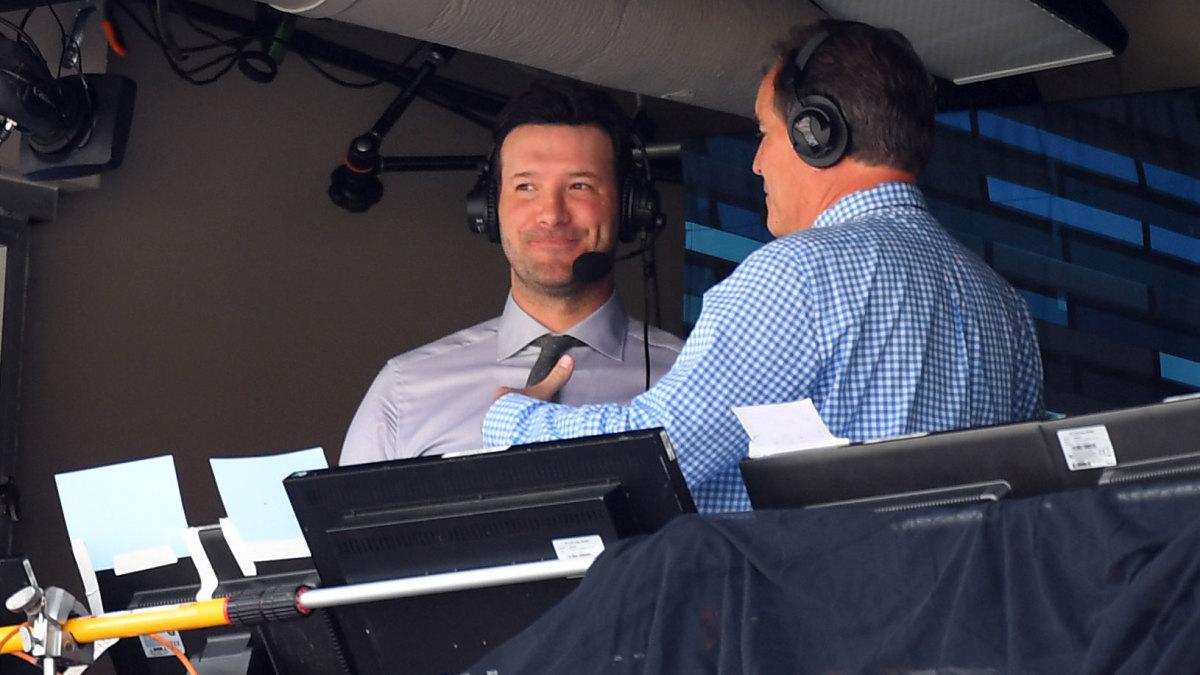 Dear Tony Romo, Please Stay With CBS: TRAINA THOUGHTS