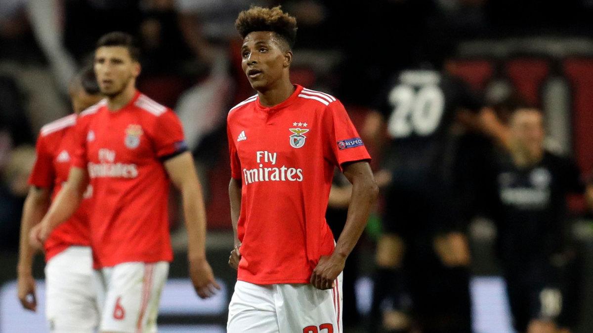 Gedson Fernandes will join Tottenham on loan