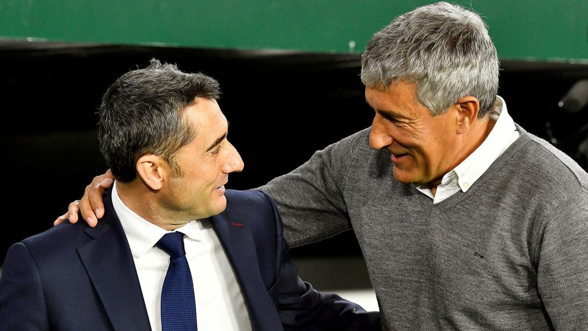 Barcelona fires Ernesto Valverde, hires Quique Setien as manager ...