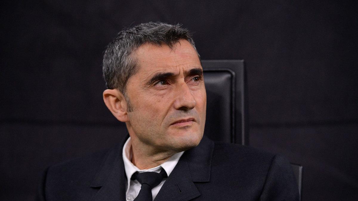 Ernesto Valverde is out as Barcelona coach