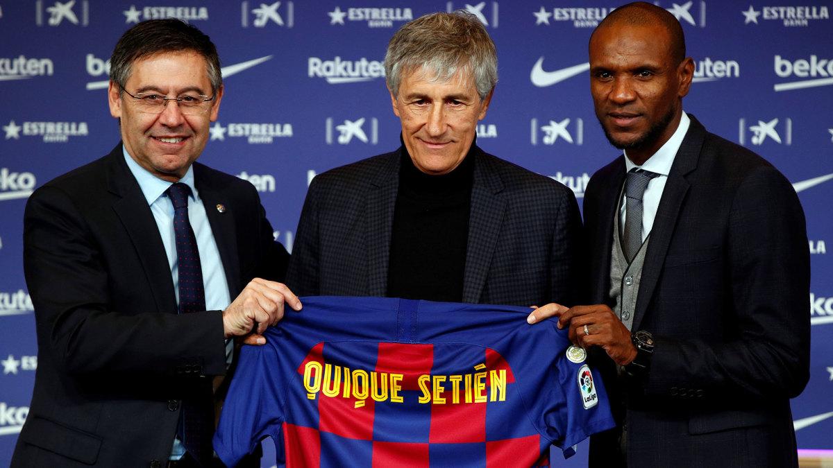 Quique Setien is Barcelona's new manager