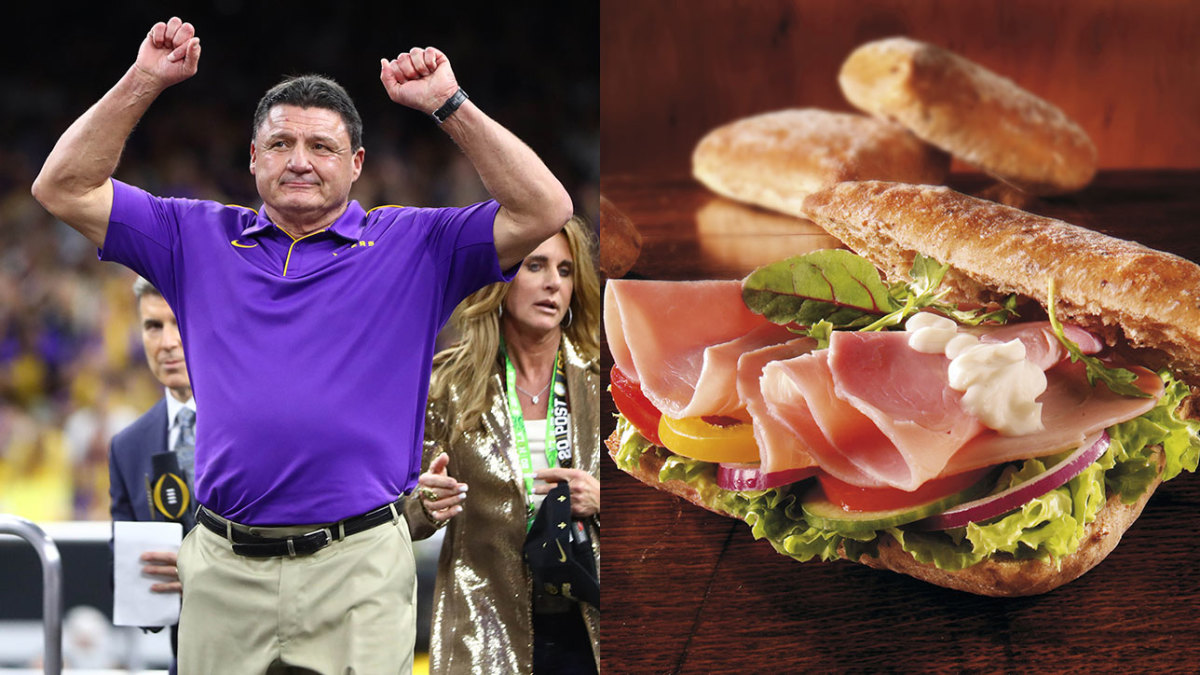 Ed Orgeron Said He Was Going to Celebrate National Championship With a Sandwich: TRAINA THOUGHTS