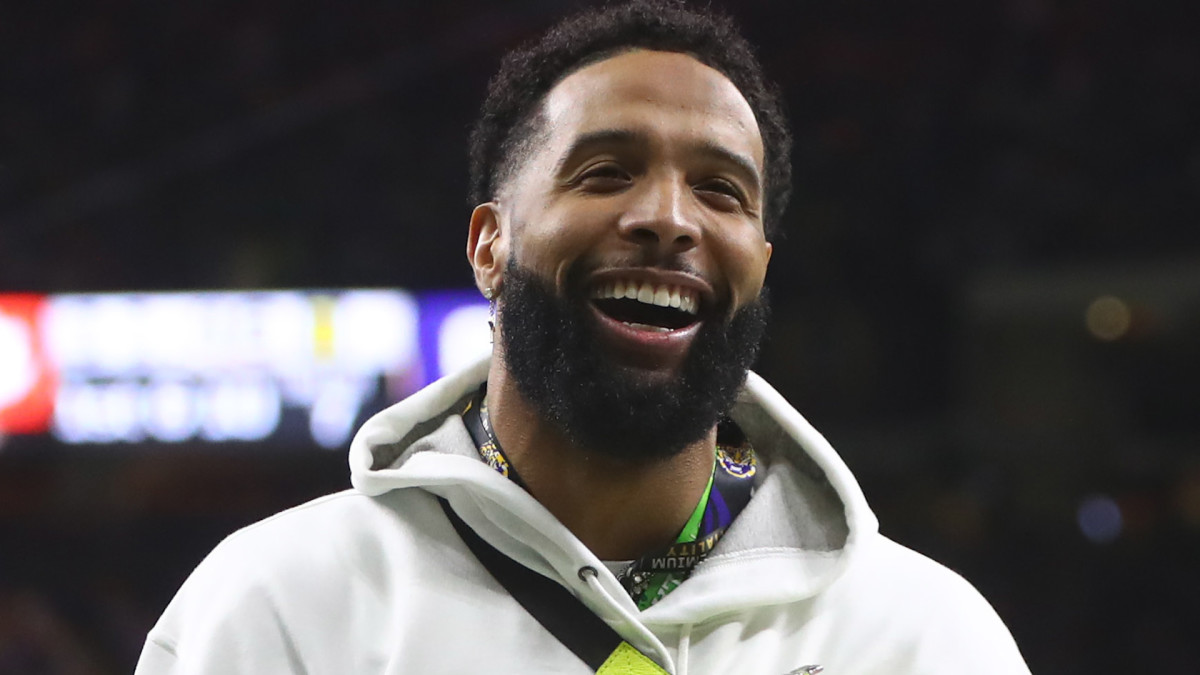 Warrant issued for Odell Beckham Jr. after slapping officer on the butt - Sports Illustrated