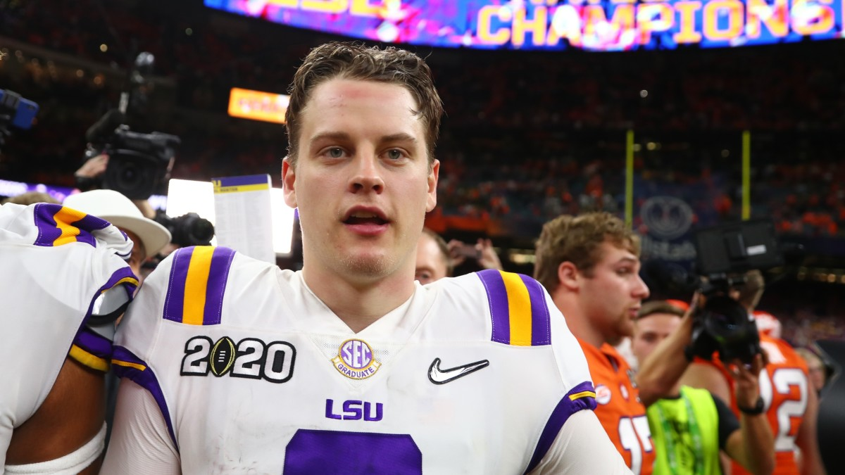 Joe Burrow Would Be 'Happy' to Join Bengals, Per Father