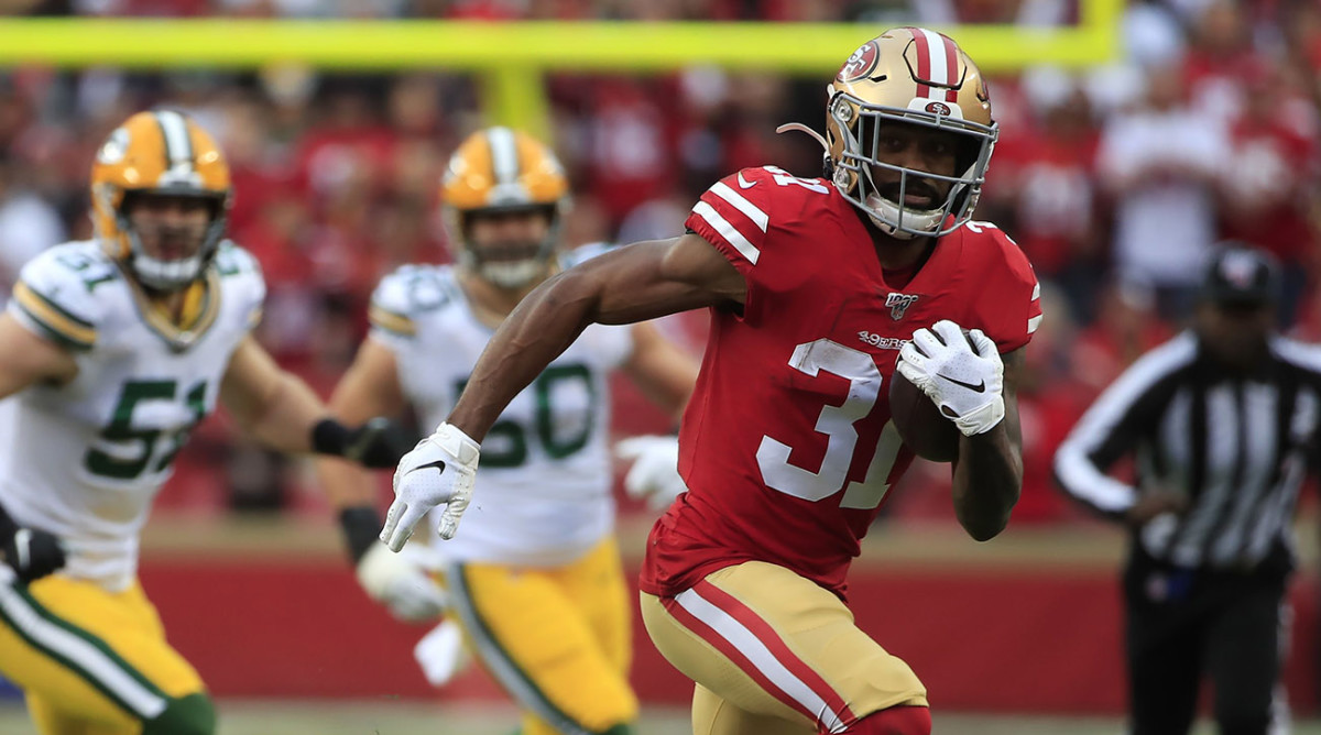 Raheem Mostert ran wild in the NFC championship game, but the 49ers' backfield has been more positional value than superstar.