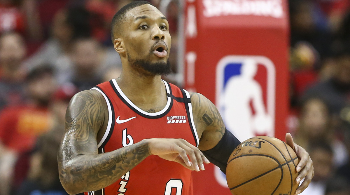 Lillard to Miss 3-4 Games With Right Groin Injury