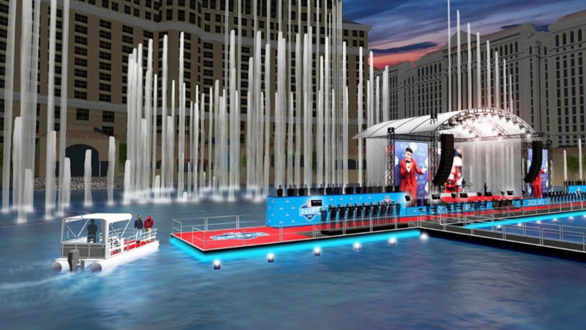Prospects Will Be Ferried to Red Carpet by Boat at 2020 NFL Draft in Las Vegas