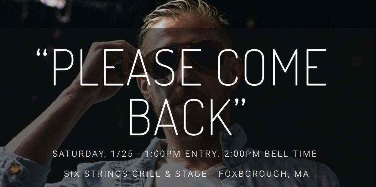 "Promotional image for Beyond Wrestling's ""Please Come Back"" event"