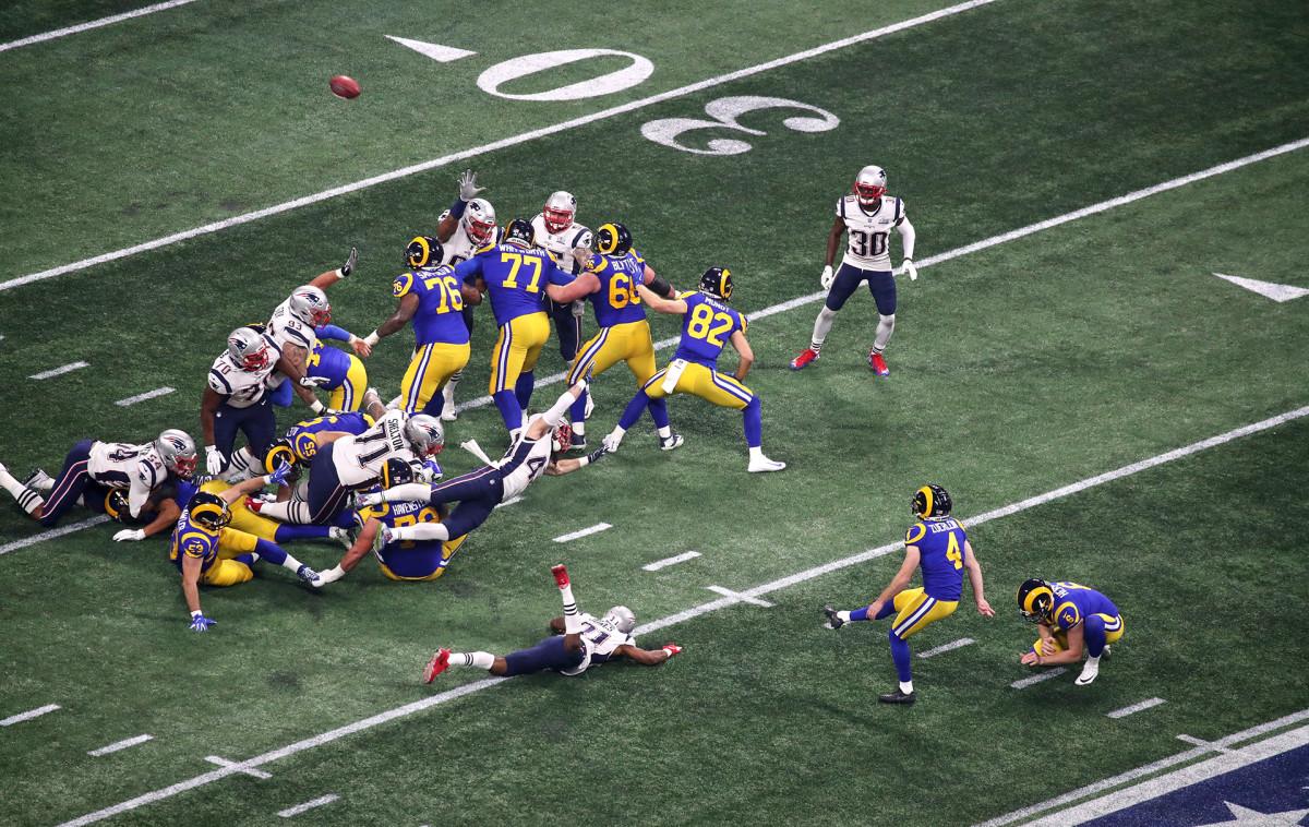 Greg Zuerlein Super Bowl missed field goal