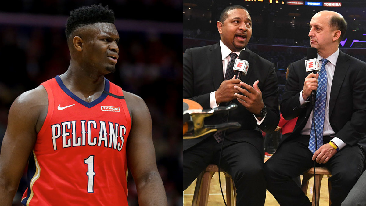 No, Jeff Van Gundy and Mark Jackson Did Not 'Fat Shame' Zion Williamson: TRAINA THOUGHTS