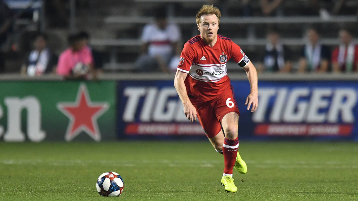 Dax McCarty is a leading voice for the MLS Players Association