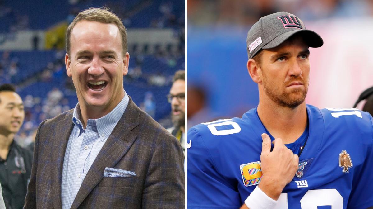 Eli Manning Was Peyton's Third Favorite Quarterback