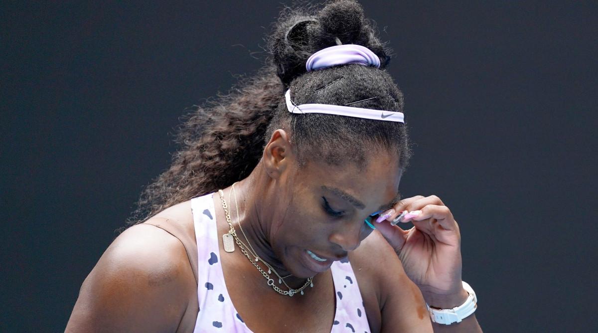 Serena-loses