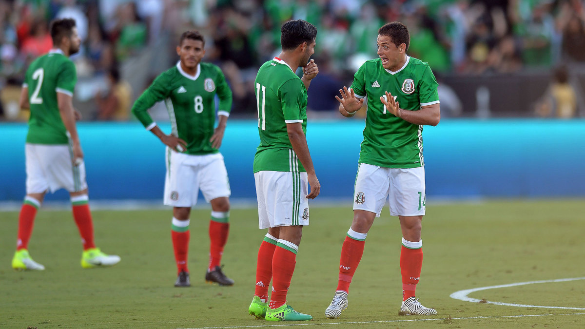 Carlos Vela and Chicharito are Mexico teammates and MLS opponents