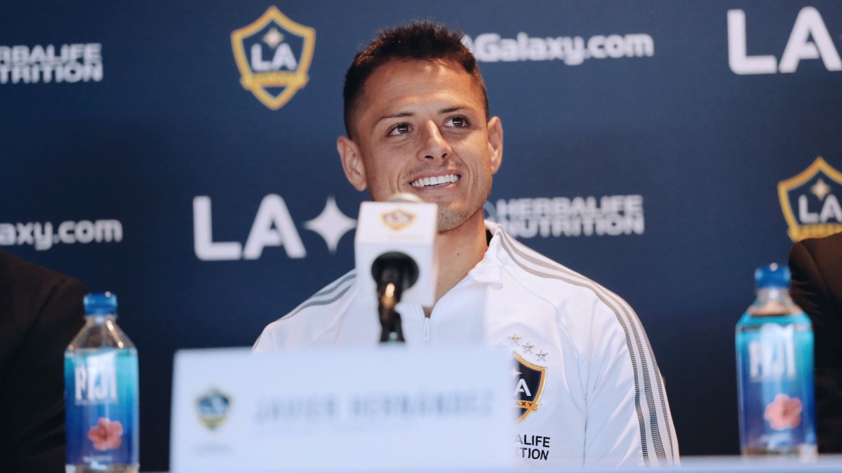 Chicharito has joined the LA Galaxy in MLS