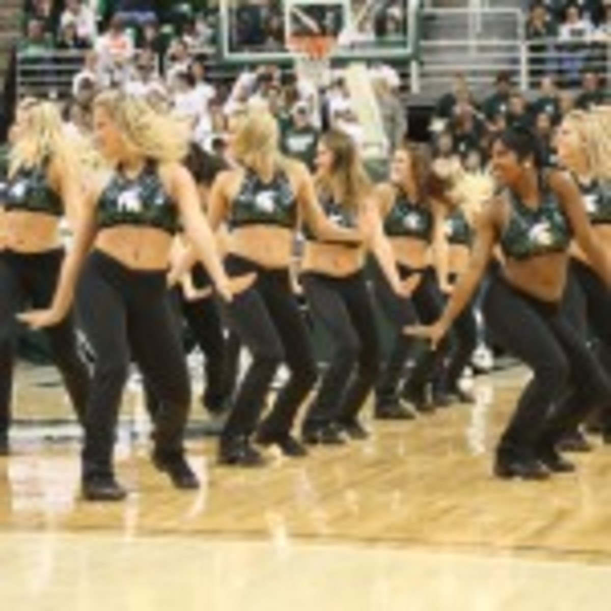 It is finally March and in the Spartan Nation that means stand up and get ready. Photo courtesy of Mark Boomgaard.