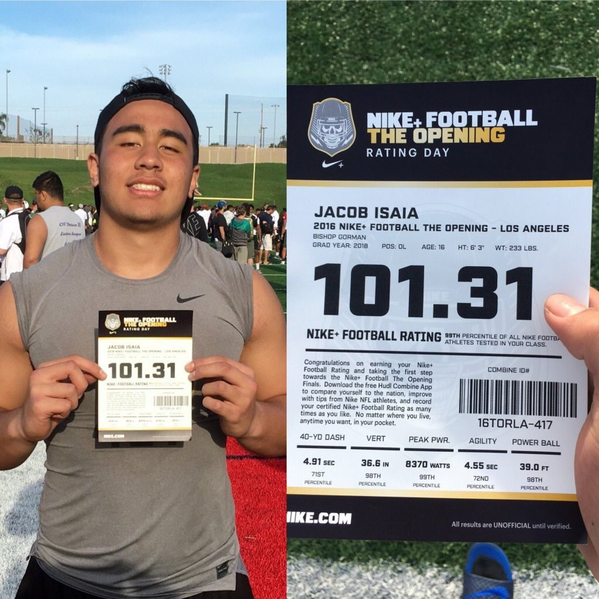 Jacob Isaia is tearing up the camp circuit garnering national attention.  Photo:  Jacob Isaia.